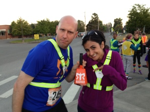 One of the crazies who convinced me to run this race. He promised I could ring this crazy cow bell if I ran the race!