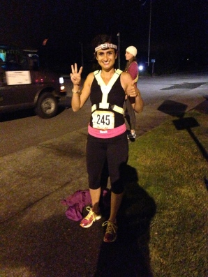 Start of my 3rd leg! 3:30 am!